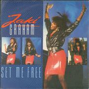 Click here for more info about 'Jaki Graham - Set Me Free - Colour P/S'
