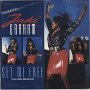 Click here for more info about 'Jaki Graham - Set Me Free'