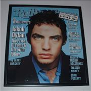 Click here for more info about 'Jakob Dylan - Rolling Stone - Framed Cover Print'