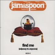 Click here for more info about 'Jam & Spoon - Find Me'