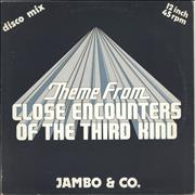 Click here for more info about 'Theme From Close Encounters Of The Third Kind - Blue Vinyl'