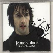 Click here for more info about 'James Blunt - You're Beautiful - Autographed'