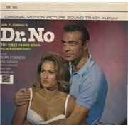 James Bond Dr. No UK vinyl LP