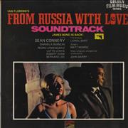James Bond From Russia With Love UK vinyl LP