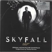 Click here for more info about 'James Bond - Skyfall - 180gm Transparent & Black Mixed Vinyl'