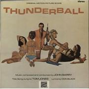 James Bond Thunderball UK vinyl LP