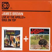 Click here for more info about 'James Brown - Live At The Apollo / Soul On Top'