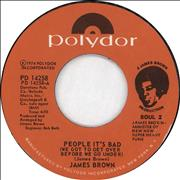 Click here for more info about 'James Brown - People It's Bad (We Got To Get Over Before We Go Under)'