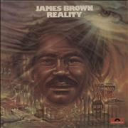 Click here for more info about 'James Brown - Reality - 1st'