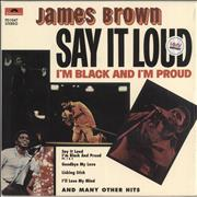 Click here for more info about 'James Brown - Say It Loud (I'm Black And I'm Proud) + Shrink'