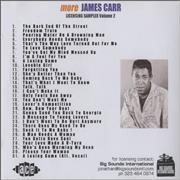 Click here for more info about 'James Carr - You Got My Mind Messed Up - Album Sampler'