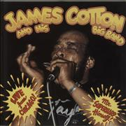 Click here for more info about 'James Cotton - Live From Chicago! - Mr. Superharp Himself!'