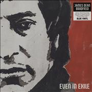 Click here for more info about 'James Dean Bradfield - Even In Exile - Blue Vinyl - Sealed'