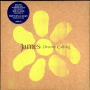 Click here for more info about 'James - Destiny Calling - CDs 1, 2 & 3'