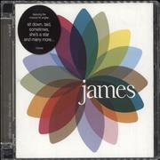 Click here for more info about 'James - Fresh As A Daisy - The Singles'