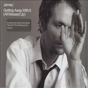 Click here for more info about 'James - Getting Away With It (All Messed Up)'