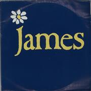 """James How Was It For You Germany 7"""" vinyl"""