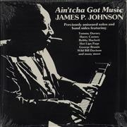 Click here for more info about 'James P. Johnson - Ain'tcha Got Music - Sealed'