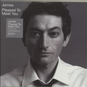 Click here for more info about 'James - Pleased To Meet You - 180gram Vinyl + Sealed'