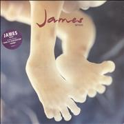Click here for more info about 'James - Seven - stickered p/s'