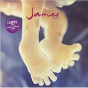 James Seven UK vinyl LP