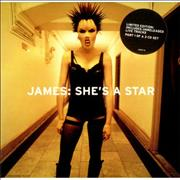 Click here for more info about 'James - She's A Star - Part 1, 2 & 3'