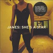 Click here for more info about 'James - She's A Star'