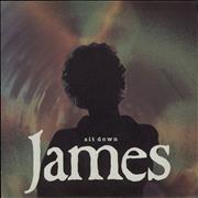 "James Sit Down UK 7"" vinyl"