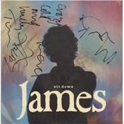 "James Sit Down France 12"" vinyl"