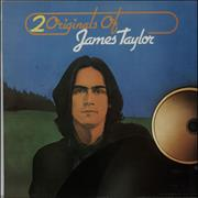 Click here for more info about 'James Taylor - 2 Originals Of James Taylor - cream label'