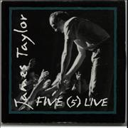 Click here for more info about 'James Taylor - Five (5) Live'