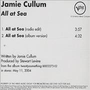 Click here for more info about 'Jamie Cullum - All At Sea'