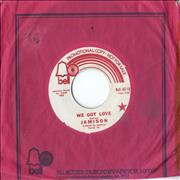 Click here for more info about 'Jamison - We Got Love'