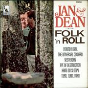 Click here for more info about 'Jan & Dean - Folk 'n Roll - Mono - Black/silver Label'