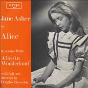 "Jane Asher Alice In Wonderland UK 7"" vinyl"