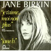 Click here for more info about 'Jane Birkin & Serge Gainsbourg - Je T'Aime... Moi Non Plus'