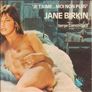 Click here for more info about 'Jane Birkin & Serge Gainsbourg - Je T'aime... Moi Non Plus - P/S - EX'