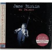 Jane Birkin Au Palace Japan CD album Promo