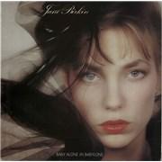 Jane Birkin Baby Alone In Babylone France vinyl LP