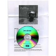 Jane Birkin Rendez-Vous - Sampler UK CD-R acetate Promo