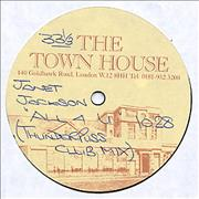 "Janet Jackson All 4 U UK 12"" vinyl Promo"
