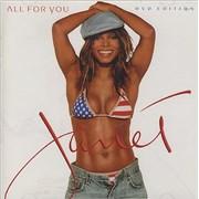 Janet Jackson All For You USA 2-disc CD/DVD set