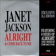 Click here for more info about 'Janet Jackson - Alright + Come Back To Me'