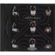 Janet Jackson Ask For More - Jewel Case UK CD single Promo