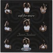 Janet Jackson Ask For More USA CD single Promo