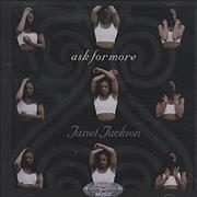 Janet Jackson Ask For More USA CD-ROM Promo