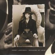 Click here for more info about 'Janet Jackson - Because Of Love'