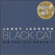 Click here for more info about 'Janet Jackson - Black Cat - World Tour Pack - Sealed'