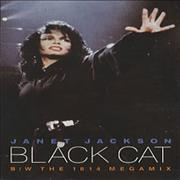 Janet Jackson Black Cat UK cassette single