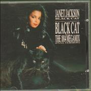 Click here for more info about 'Janet Jackson - Black Cat'